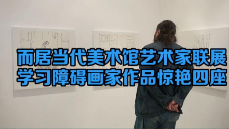 大理而居当代美术馆艺术家联展 学习障碍画家作品惊艳四座
