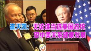 中国驻美使馆举行国庆67周年招待会