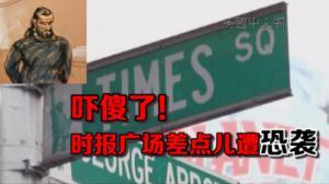 纽约男子计划在时报广场进行恐袭 被FBI逮捕