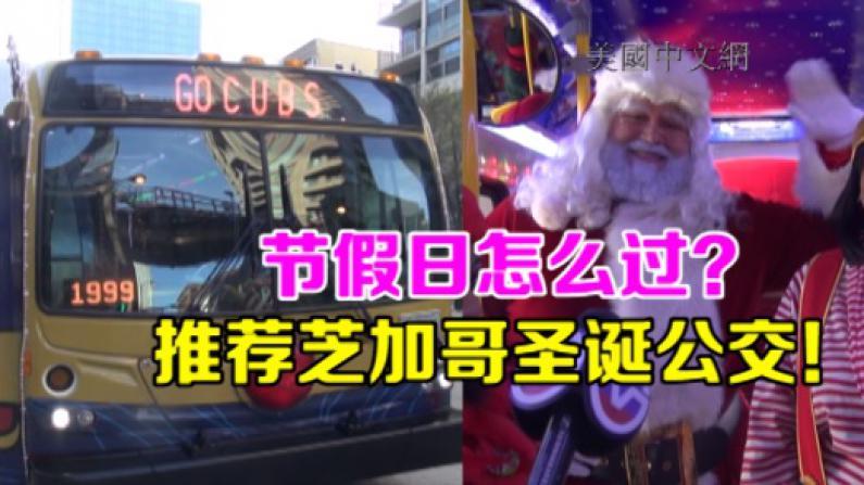 玩转节日季,芝加哥圣诞公交带你飞!