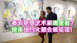 """""""欢乐春节·艺术中国汇""""纽约大都会展览馆展开中美现代艺术对话"""