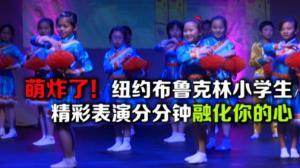 纽约布鲁克林公立小学 萌娃贺新春  节目精彩纷呈 弘扬多元文化