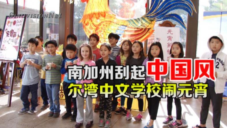 中文学校欢庆元宵节  学生感受传统文化魅力