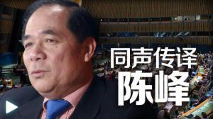 陈峰:见证外交风云的翻译官