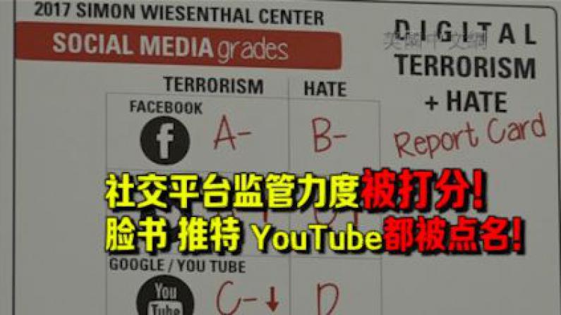 斯静格公布网络恐怖主义与仇恨评级报告 呼吁互联网企业加强监管力度