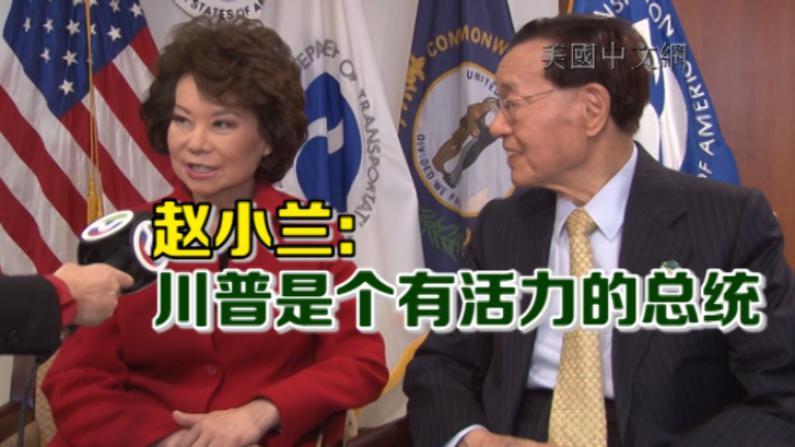 赵小兰:川普是个有活力的总统