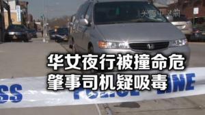 纽约班森贺发生严重车祸 华女被撞命危 司机疑吸毒