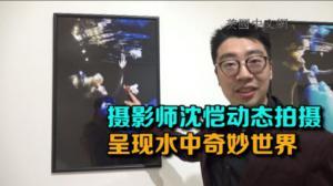 """摄影师沈恺纽约456画廊举办""""水星""""个展 动态拍摄 呈现水中奇幻世界"""