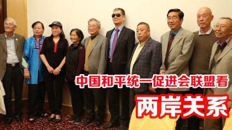 中国和平统一促进会联盟座谈蔡英文执政一年表现 话两岸关系