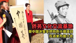 谢冰莹故居侨务文化交流基地暨中国冰莹华侨特色小镇项目推介会在洛举行