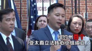 金兑锡牛毓琳力推  纽约州首个亚太裔立法核心小组成立