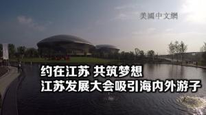 约在江苏 共筑梦想 江苏发展大会吸引海内外游子