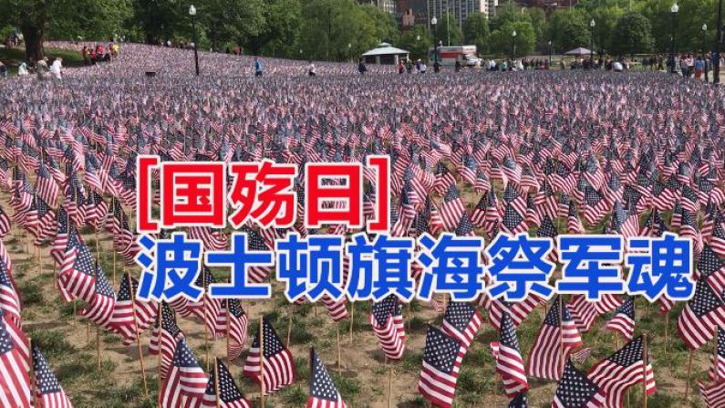 国殇日 波士顿旗海祭军魂