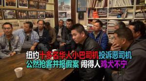 多名华人小巴司机投诉司机陈某 恶性抢客与屡次报假案