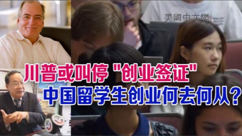 """川普欲叫停""""创业签证""""  中国留学生创业何去何从?"""