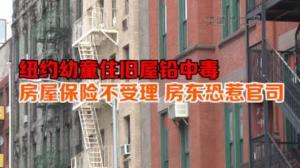 纽约幼童住旧屋铅中毒 房屋保险不受理 房东恐惹官司