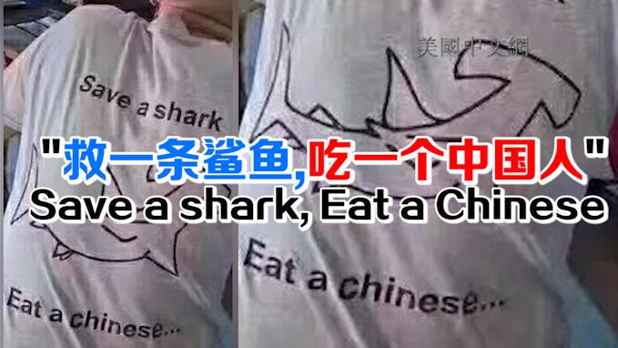 救一条鲨鱼 吃一个中国人