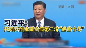 2017金砖国家工商论坛厦门开幕 中国国家主席习近平发表主旨演讲