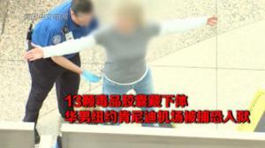 13颗毒品胶囊藏下体 华男纽约肯尼迪机场被捕恐入狱