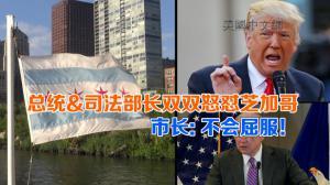 总统&司法部长双双怒怼芝加哥 市长: 不会屈服!