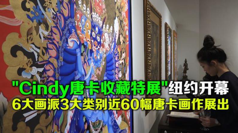 """Cindy唐卡收藏特展""纽约开幕 6大画派3大类别近60幅唐卡画作展出"