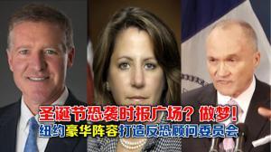 纽约豪华阵容打造反恐顾问委员会