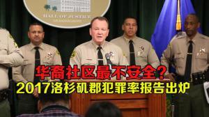 2017洛杉矶郡总体犯罪率下降 华裔社区犯罪率却呈上升趋势
