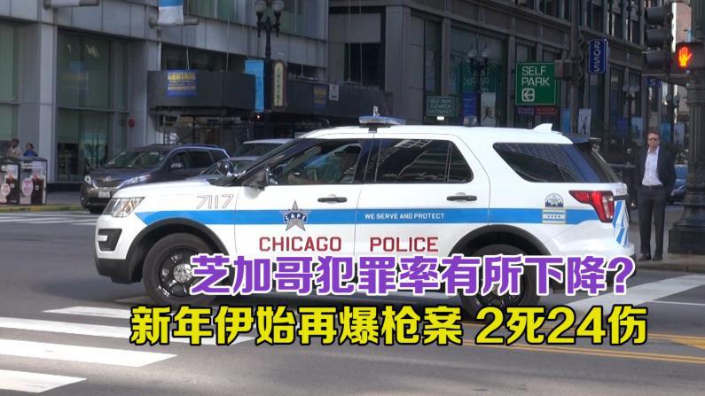 2017年芝加哥枪支犯罪率下降16%