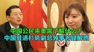 中国驻洛杉矶副总领事答记者问:详解来美领保安全相关问题