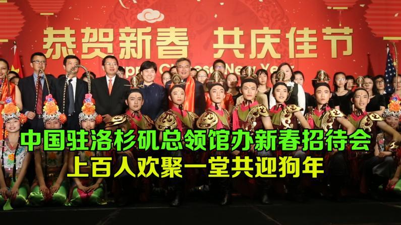 中国驻洛杉矶总领馆举办新春招待会 南加各界共聚迎狗年