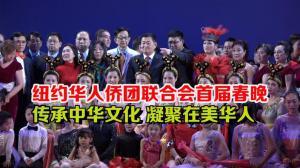 纽约华人侨团联合会首届春晚  传承中华文化 凝聚在美华人