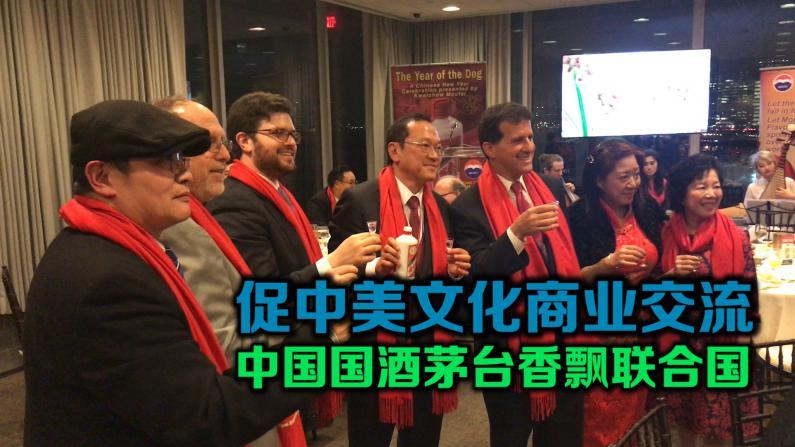 促中美文化商业交流 中国国酒茅台香飘联合国