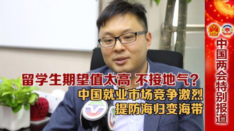 留学生期望值高不接地气?中国就业竞争激烈海归当心变海带