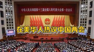 在美华人热议中国两会