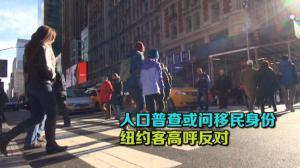 人口普查或问移民身份  纽约客高呼反对