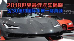 2018世界最佳汽车揭晓 3/30纽约国际车展一睹真颜