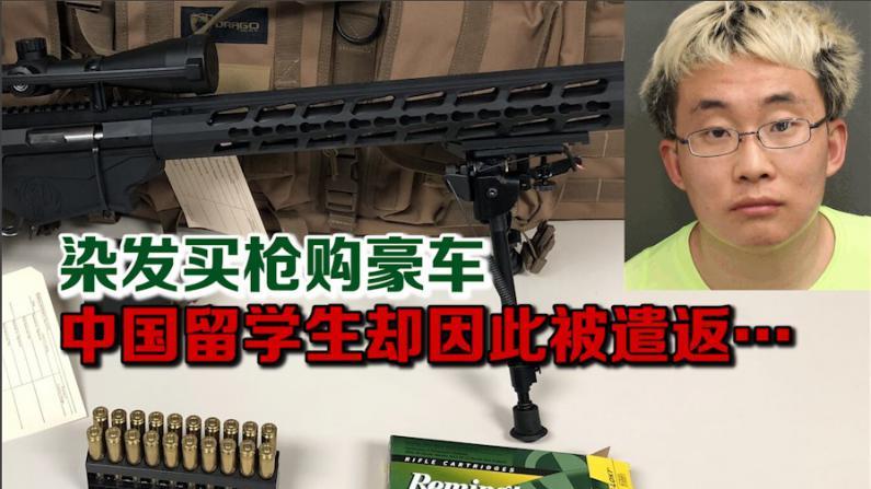 染发买枪购豪车 中国留学生却因此被遣返…