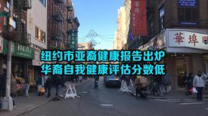 纽约市亚裔健康报告出炉 华裔自我健康评估分数低