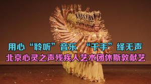 """""""千手""""绎无声 北京心灵之声残疾人艺术团文化交流音乐会《心梦相连•文化和合》休斯敦圆满落幕"""
