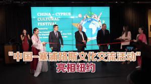 """""""中国——塞浦路斯文化交流活动""""亮相纽约"""