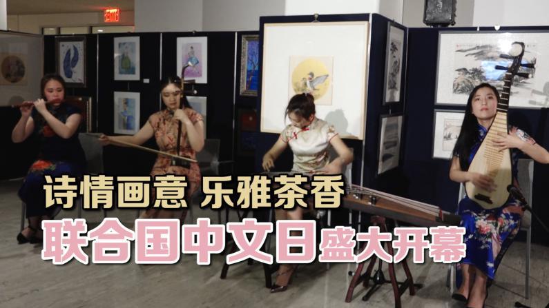 诗情画意 乐雅茶香 联合国中文日盛大开幕