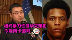 纽约皇后区暴力性侵华裔女子案嫌犯今晨南卡落网