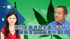 《一刻》纽约大麻或迎全面合法化? 聊聊美国大麻那些事儿