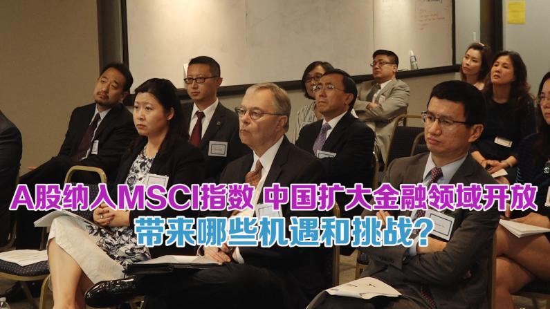 中国A股今日纳入MSCI指数 休斯敦精英把握中国金融开放机遇举行思想峰会