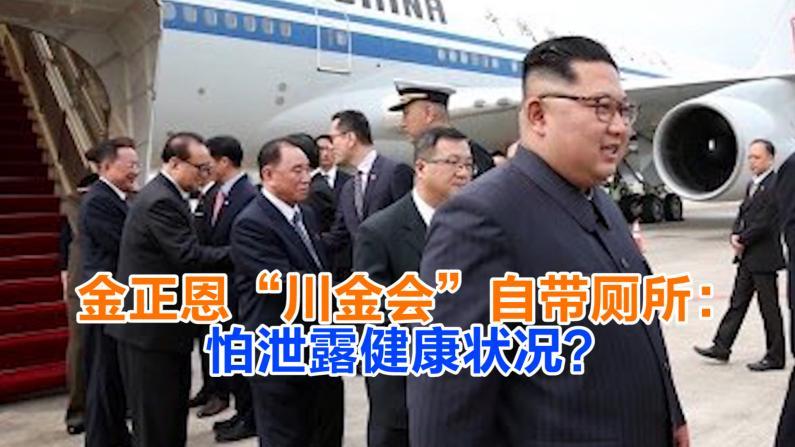 """金正恩""""川金会""""自带厕所:怕泄露健康状况?"""