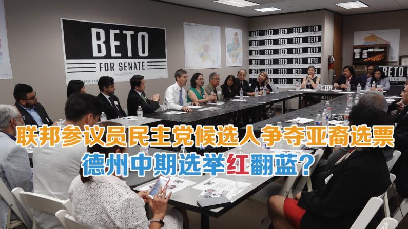 倾听亚裔心声 德州国会参议员候选人关注亚裔权益