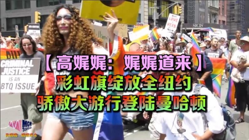 【高娓娓:娓娓道来】彩虹旗绽放全纽约 - 骄傲大游行登陆曼哈顿