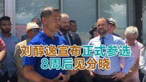 刘醇逸宣布正式参选 8周后见分晓