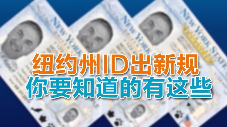 纽约州ID出新规  你要知道的有这些