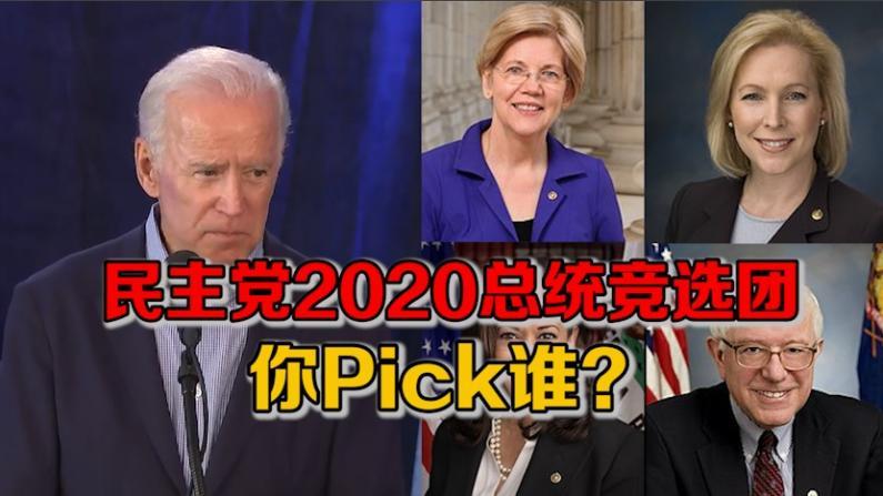 民主党2020总统竞选团 你Pick谁?